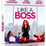 Like A Boss DVD image, Tiffany Haddish, Rose Byrne film, Candypoloza movie review