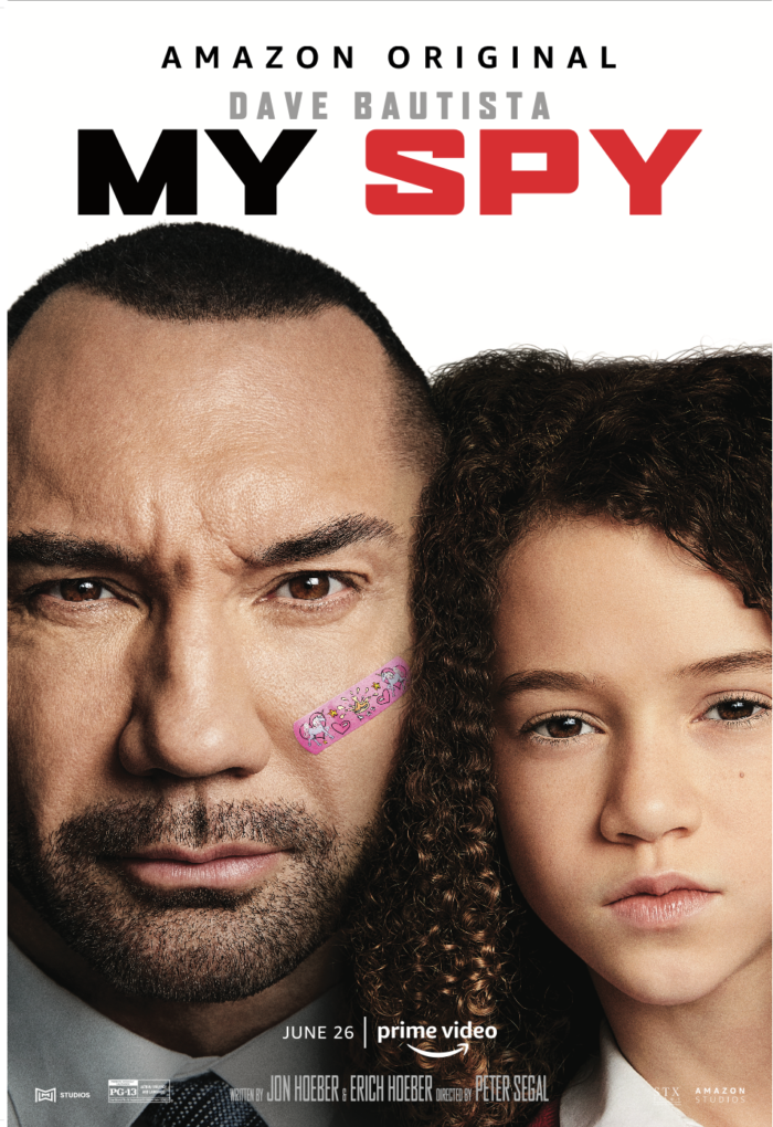 My Spy on Amazon Prime Video movie poster. Movie review on Candypo.com
