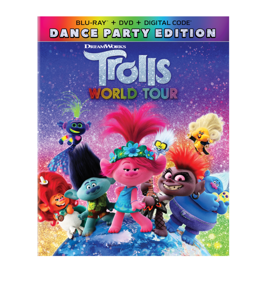 Trolls World Tour DVD my review and thoughts