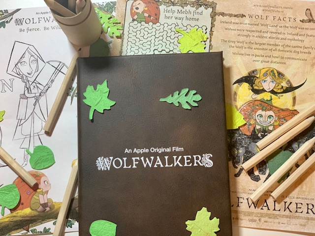 wolfwalkers press event kit on candypo.com