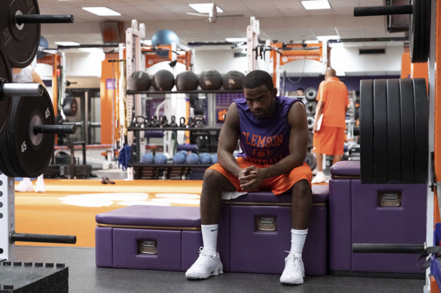 Safety on DisneyPlus on Candypo.com Ray in the locker room