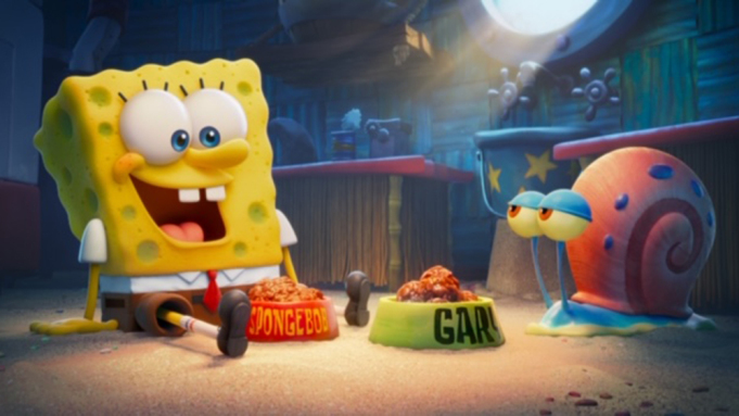 SpongeBob and Gary in Sponge on the Run thoughts and review on candypo.com