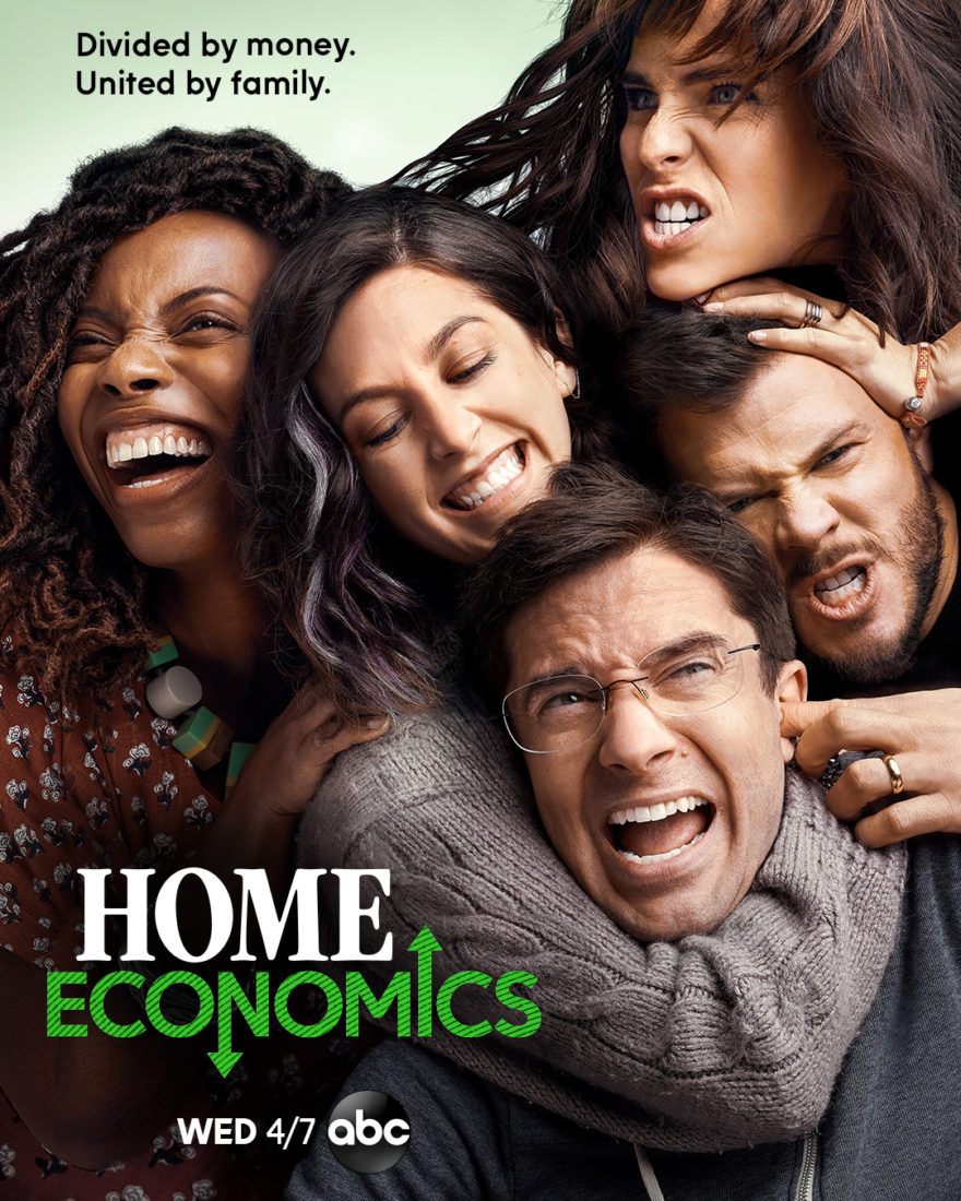ABC new show Home Economics on ABC on candypo.com