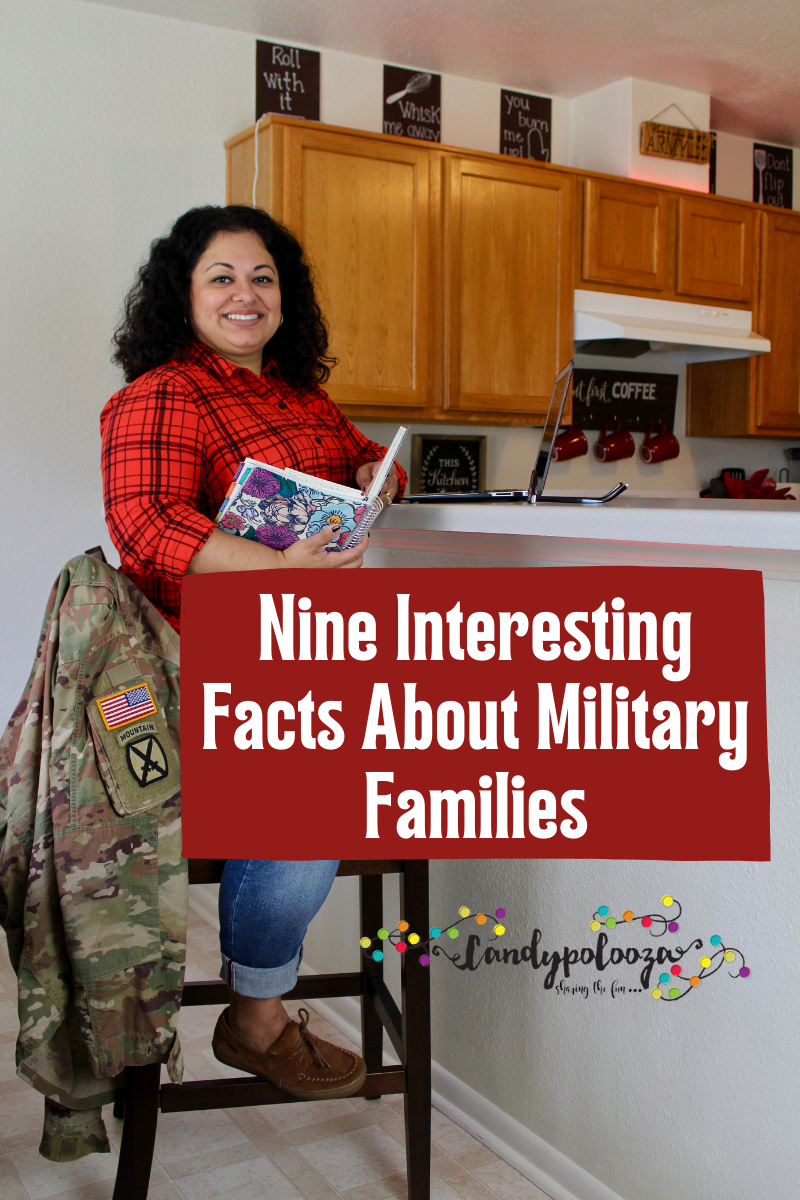 Nine Interesting Facts About Military Families on candypo.com