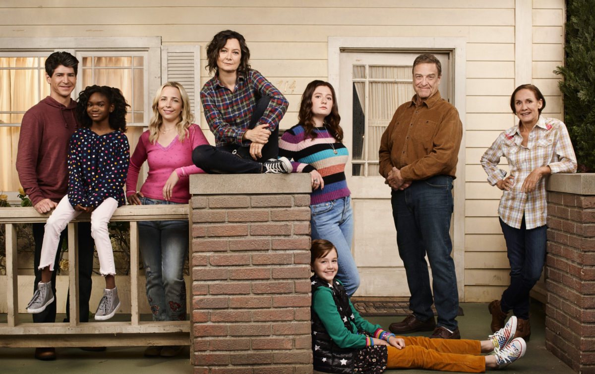 The conners on ABC interview with Sara Gilbert and Ames McNamara on candypo.com