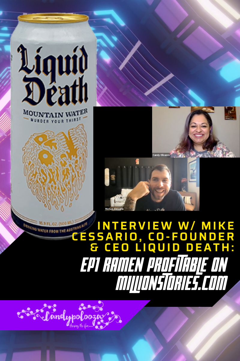 Interview with Mike Cessario Liquid Death on candypo.com
