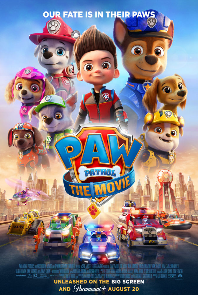Paw Patrol: The Movie poster on candypo.com