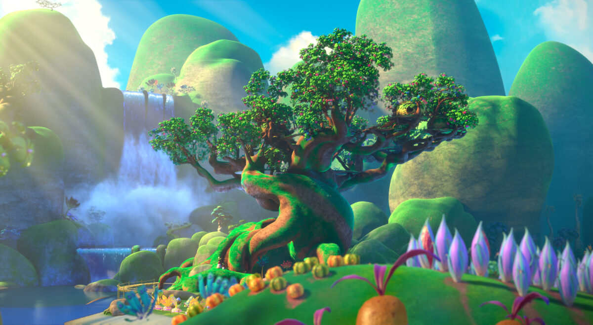 Entertainment Review Animated Series Dreamworks The Croods Family Tree Series image on candypo.com