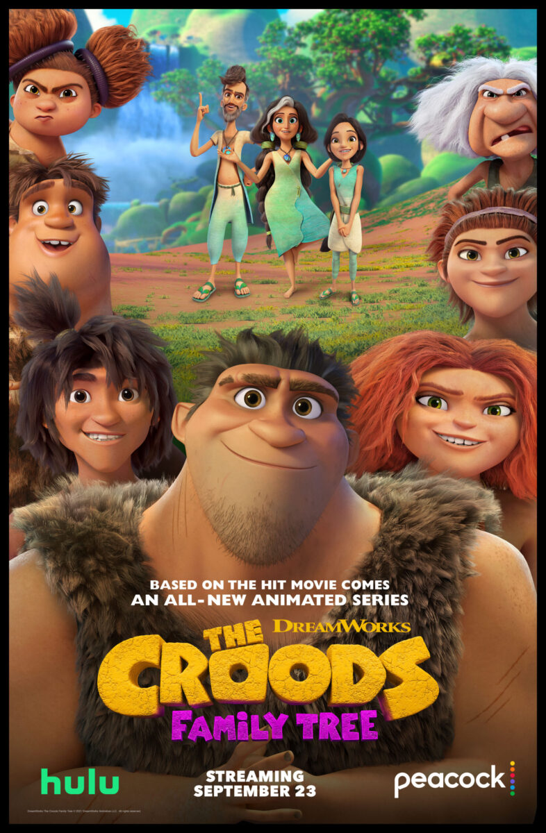Entertainment Review Animated Series Dreamworks The Croods Family Tree on candypo.com